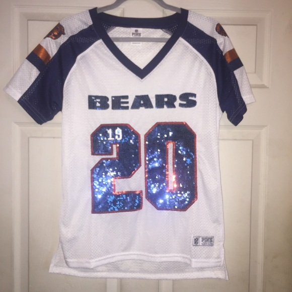 official photos 0ac23 be7c4 Victoria's Secret nfl Chicago Bears jersey Top S